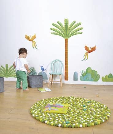tapis chambre bébé garcon tapis ballsrug karma green lilipinso tendre amour
