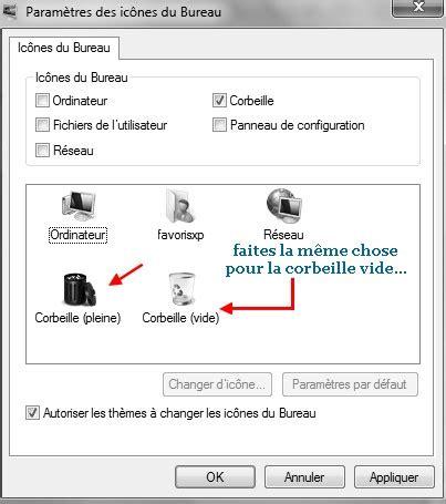 comment remettre l icone corbeille sur le bureau comment remettre la corbeille sur le bureau windows 7
