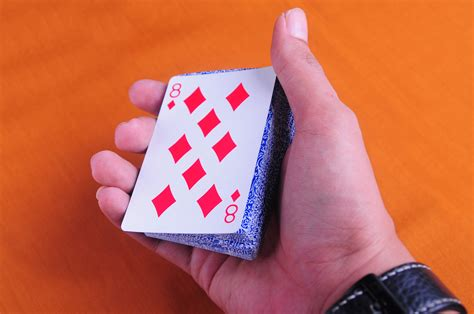 card tricks 7 ways to do easy card tricks wikihow