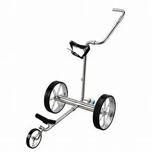 Chariot Electrique Golf : selowo lectrique en acier inoxydable chariot de golf ~ Nature-et-papiers.com Idées de Décoration