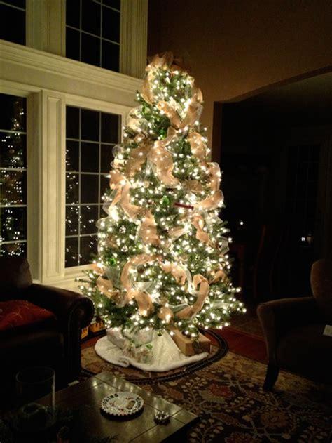 my burlap christmas the hansen family