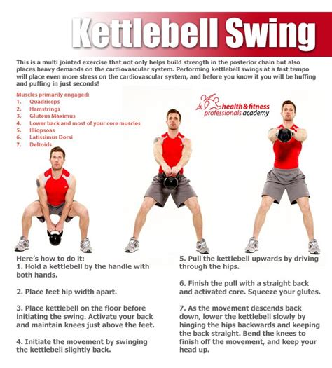 kettlebell swing swings workout kettle training technique proper benefits challenge core routines circuit bells cardio exercise kettlebells deadlift
