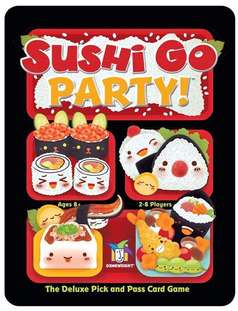 jeux de cuisine sushi sushi go randolph jeux de société à montreal