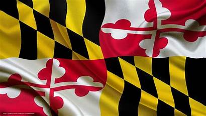 Maryland Flag Desktop State Usa Wallpapers Flagge