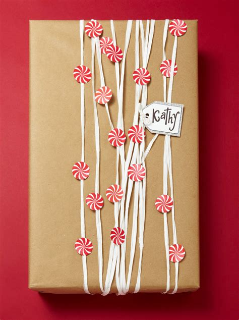 easy christmas gift wrapping ideas kraft paper easy