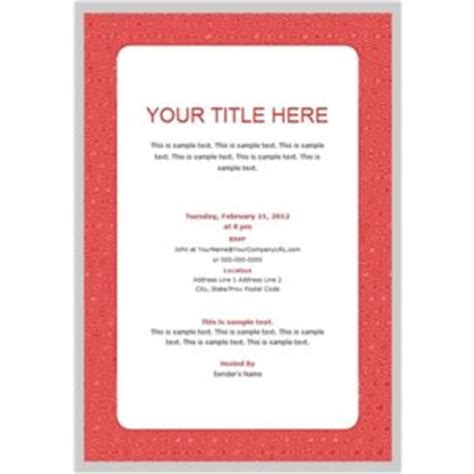 business invitation template business invitation templates free invitation templates