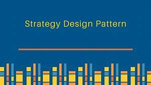 Strategy Design Pattern In Java