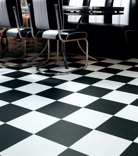 vinyl flooring black and white black and white vinyl tiles from safety flooring uk