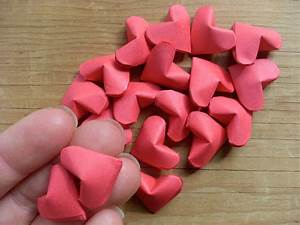Origami Hearts · How To Fold An Origami Shape · Papercraft