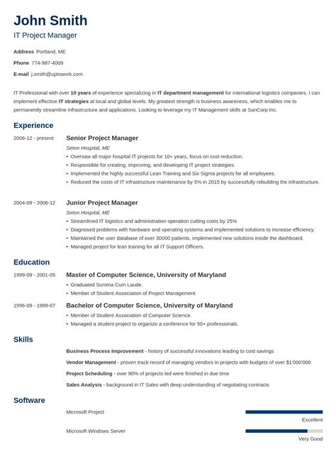 15+ Blank Resume Templates & Forms to Fill In and Download