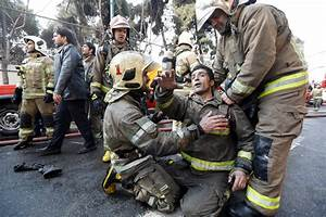 At Least 20 Firefighters Killed in Tehran Building ...