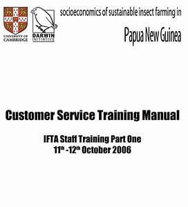 Customer Service Manual Templates