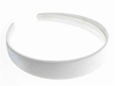 white satin headband wide alice hair band ebay