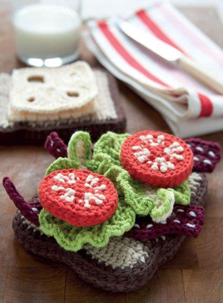crochet cuisine 138 best crochet food images on crochet food