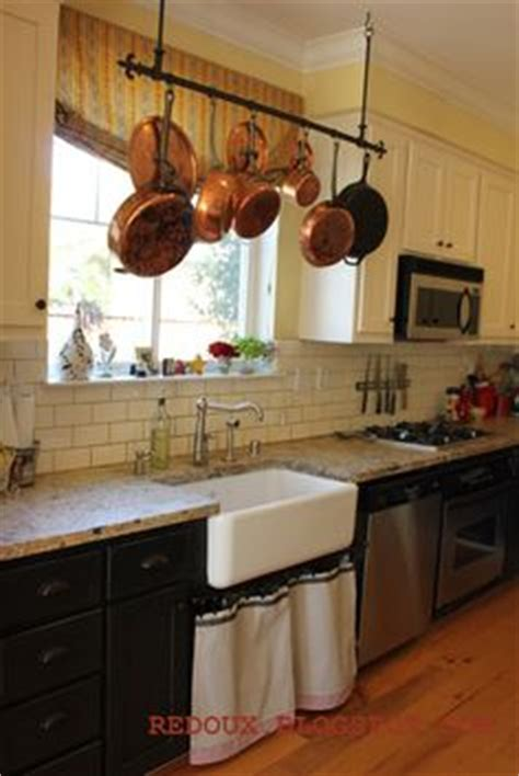 kitchen island with hanging pot rack 1000 ideas about pot rack hanging on pot