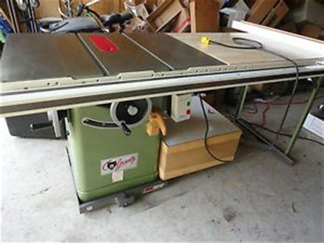 Grizzly 1023 Cabinet Saw by Rockwell 10 Unisaw Table Saw Biesemeyer Fence System Model
