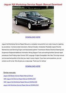 Jaguar Xj6 Workshop Service Repair Manual Dow By