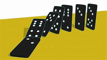 Domino Clipart Dominoes Falling Effect Tiles Transparent