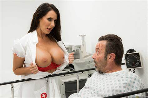 Nurse Pounding Pounded By Doctor And Patient