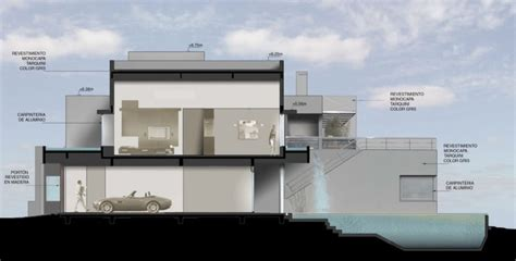 home design concepts concept the waterfall house design by andres remy