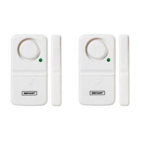 window alarms home depot defiant home security door window alarm 2 pack thd dw2 1539