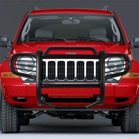jeep bumper grill 02 07 jeep liberty kj front bumper protector brush grille