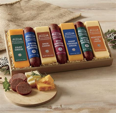 meat and cheese gift basket sausage cheese gift baskets gift ftempo