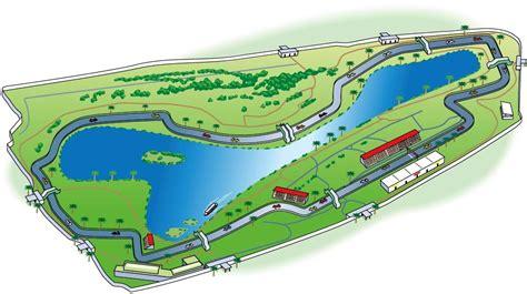 Formula one race number 2 of 2 sunday, april 18, 2021 at autodromo enzo & dino ferrari, imola, italy 63 laps on a 4.909 kilometer road course (309.3 kilometers). melbourne formula 1 racetrack map illustration