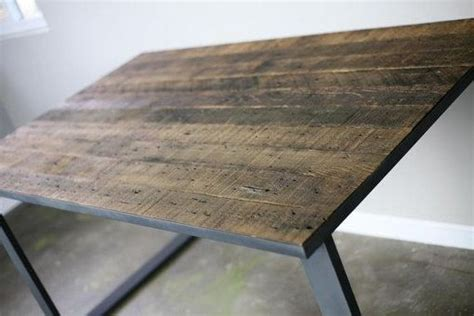 Buy a Hand Made Modern Industrial Dining Table/Desk