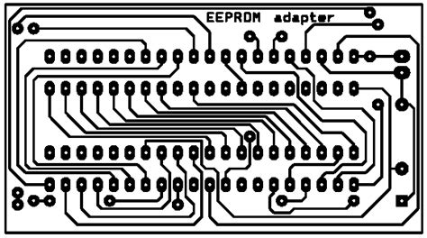 Eprom Adapter For Atmel Series Flash Microcontroller