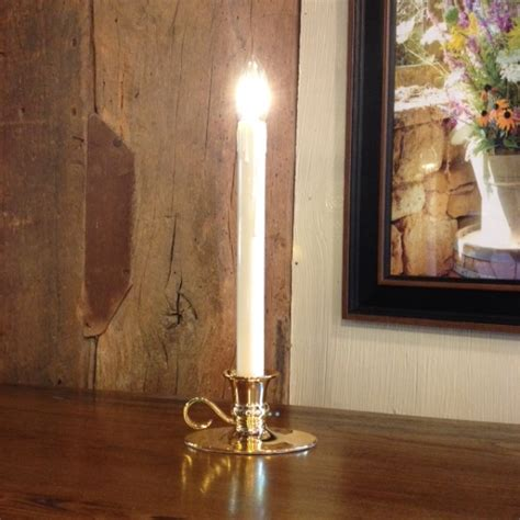 window candle quot battery operated dual intensity