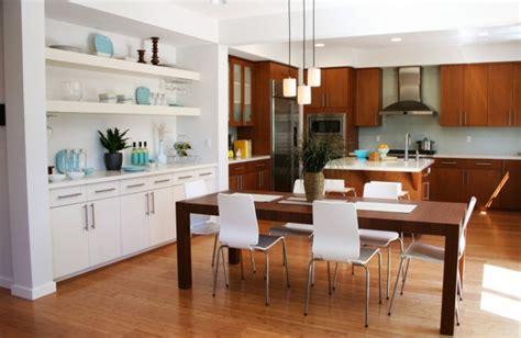 plan de cuisine ouverte sur salle à manger la cuisine ouverte sur la salle à manger 55 photos