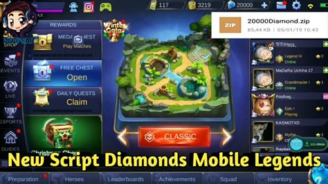 Free Diamonds Mobile Legends 💎