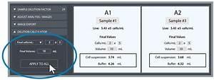 Cell Count  U0026 Viability App