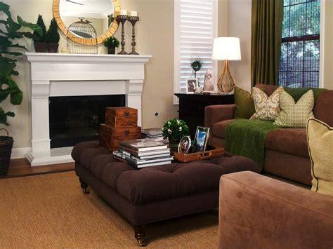 traditional cozy family room jessica bennett hgtv