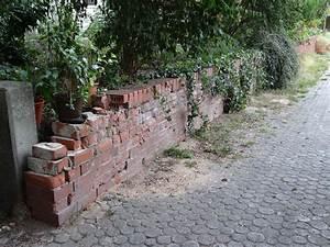 Alte Betontreppe Sanieren : alte ziegel gartenmauer sanieren und gestalten ~ Articles-book.com Haus und Dekorationen