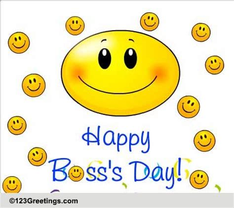 happy bosss day cards  happy bosss day wishes