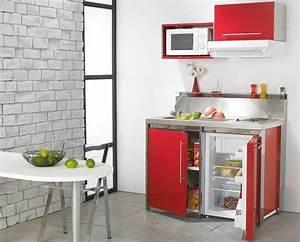 Cuisine pour studio comment l39amenager for Deco cuisine pour magasin de meuble