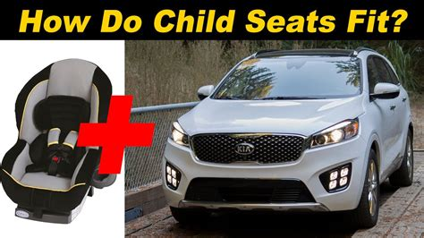 kia sorento child seat review alex  autos
