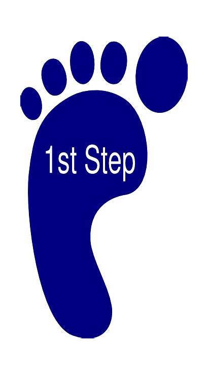 Step Clipart Clip Third Fifth Steps Foot