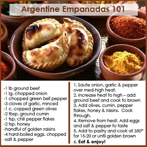 cuisine argentine empanadas 26 best food shrimp cocktail images on