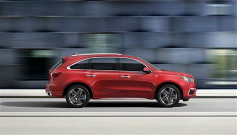 2018 Acura Mdx Sport Hybrid Pricing Begins At A Msrp Of