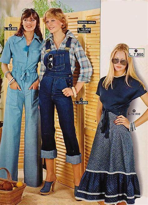 siebziger jahre kleidung overalls high heels 1970s ali tam