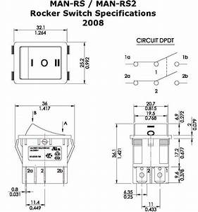 Momentary And Sustaining Rocker Switches For Linear Actuators