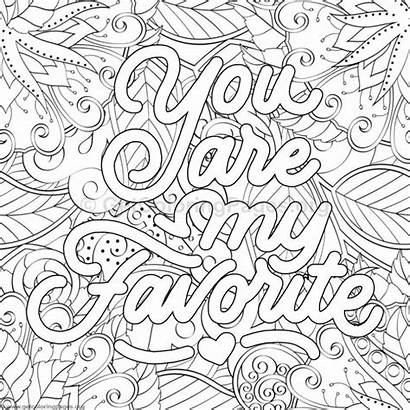 Coloring Pages Inspirational Quotes Adults Funny Quote