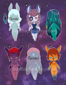 Nebula Bunny Adoptables — Weasyl