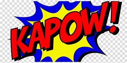 Comic Pow Zap Kapow Boom Curtain Themed