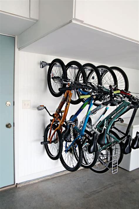 Garage Update Family Bike Storage