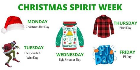 Spirit week is the week prior to homecoming (homecoming is a big football game and dance) where the schools shows spirit and supports the football team. Spirit Days at Mariposa - Mariposa Elementary School