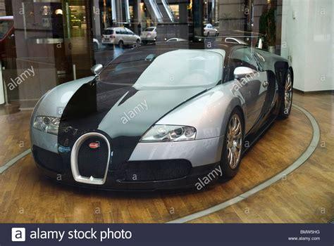 Bugatti Veyron Auto Display Berlin Deutschland Europa